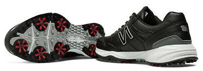 New Control 1701 Golf Shoes Black - Width