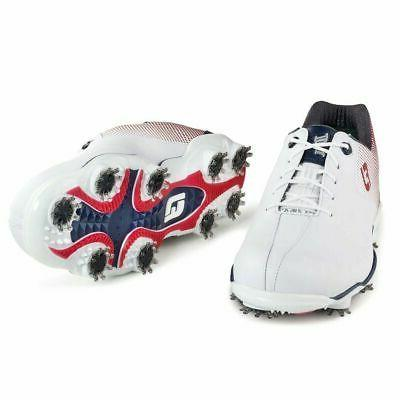 FootJoy Helix Shoes - Red/White/Blue #53317