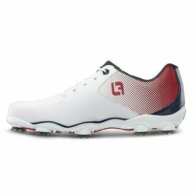 d n a helix golf shoes red