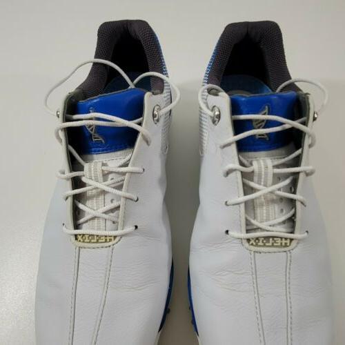FootJoy Helix Shoes White/Blue 8.5