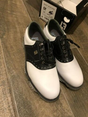 dryjoys tour men s golf shoes size