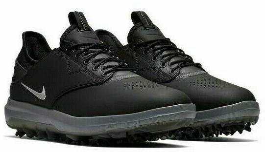DS Nike Air Direct Size 9 Black/Metallic Golf 923966 001