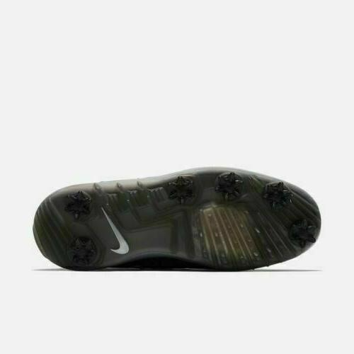 DS Direct Size 9 Black/Metallic Golf Shoes 923966