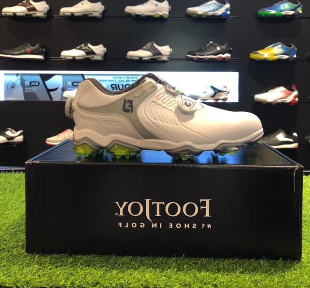 Footjoy FJ 2017 Men's DNA 2.0 BOA Golf Shoes Gray Color Extr