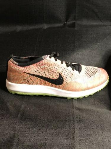 NIke Flyknit Spikeless Color Mens Golf Shoes NEW