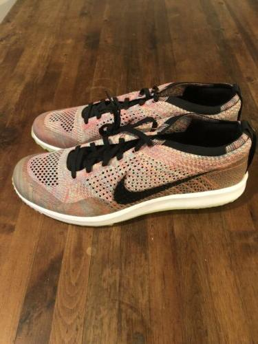 flyknit racer golf shoes jade multi color