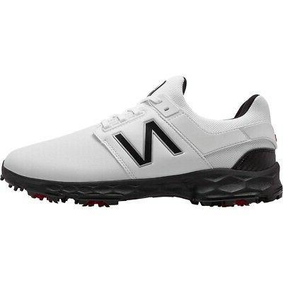 fresh foam links pro golf shoes white