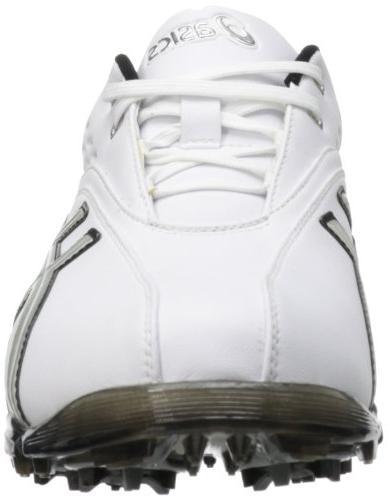 ASICS Golf Shoe,Black/Silver,11