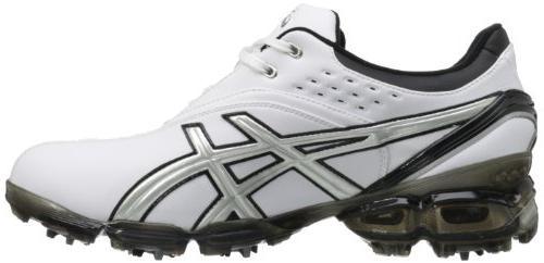 ASICS Men's Pro Golf Shoe,Black/Silver,11