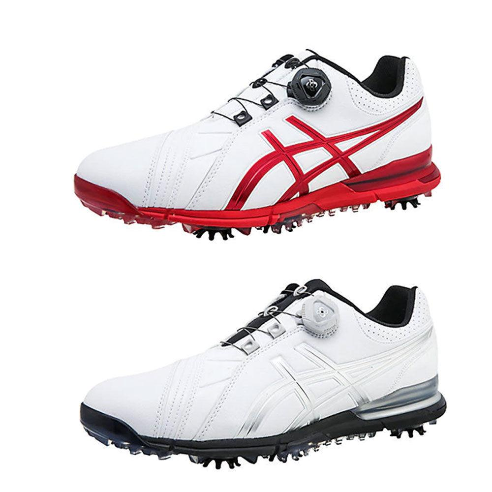 ASICS GEL-ACE PRO FG BOA Golf Shoes Sneakers Authentic 2 Col