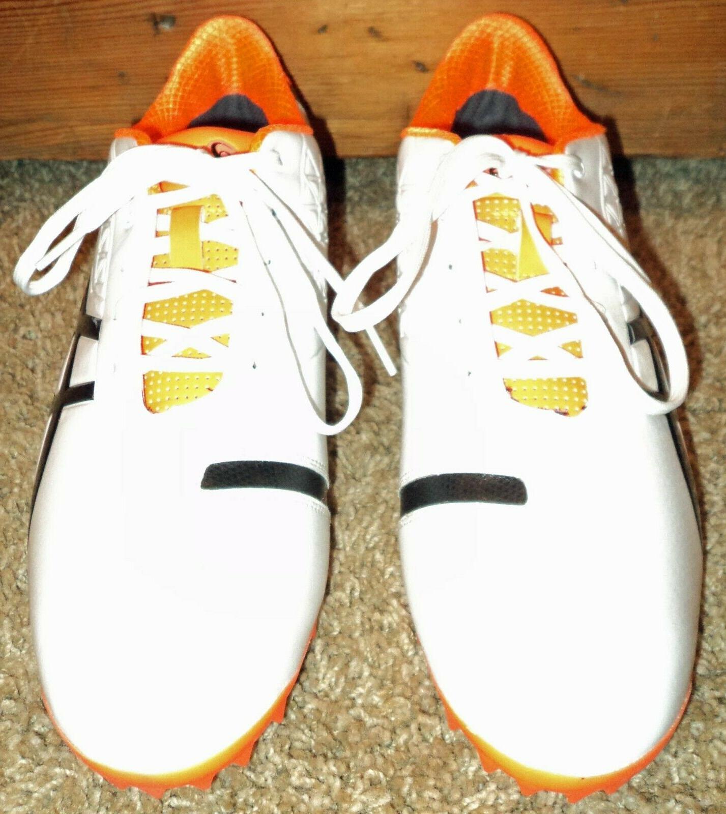 Asics Ace Light mens 8 orange Golf Shoe NWOT