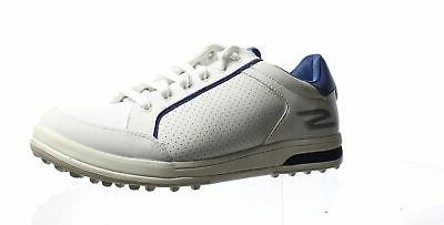 Skechers Go Drive 2 Mens Spikeless Golf Shoes Sz 10.5W White