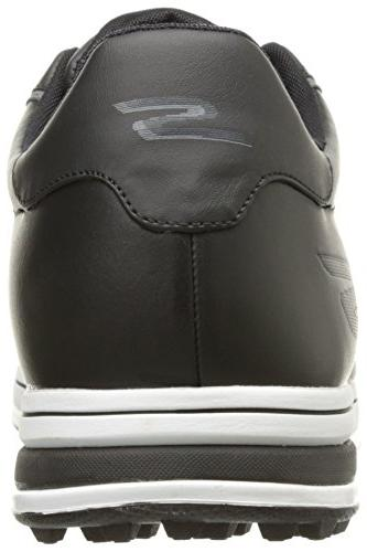 Skechers Golf Drive 2 Lx Shoe,Black/White,10 US