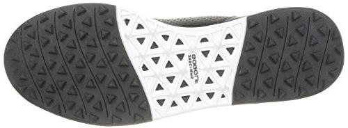 Skechers Drive Lx Shoe,Black/White,10
