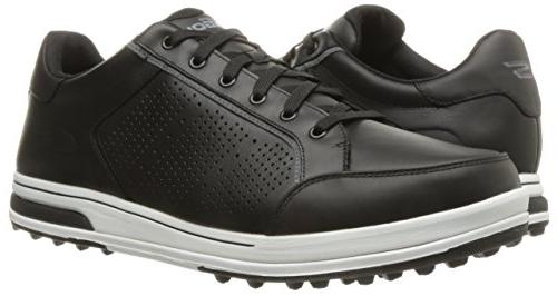 Skechers Go Drive Shoe,Black/White,10