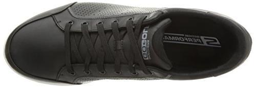 Skechers Men's Drive 2 Lx Shoe,Black/White,10 US
