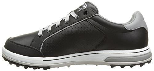 Skechers Golf Shoe,Black/White,12 US