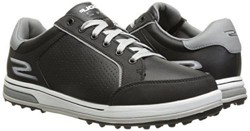 Skechers Go Golf Drive 2 Shoe,Black/White,12