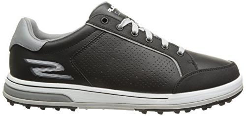 Skechers Shoe,Black/White,12 2E US