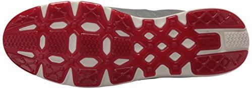 Skechers Go Elite Shoe,Charcoal/Red,10 M US