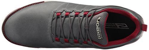 Skechers Go Elite 3 Shoe,Charcoal/Red,10