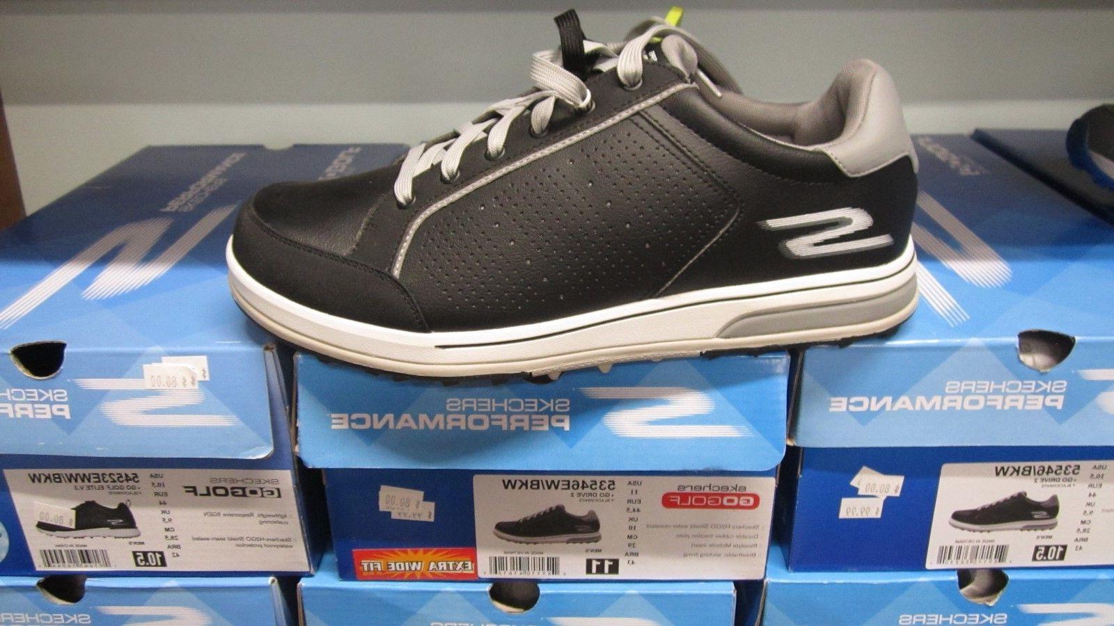 Skechers Golf V.3 Spikeless Golf Shoes 54523 11W