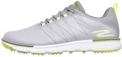 Skechers Go V.3 Golf Shoes Gray/Lime &