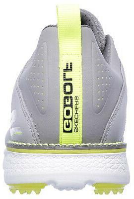 Skechers Go V.3 Spikeless Gray/Lime Choose Size & Width