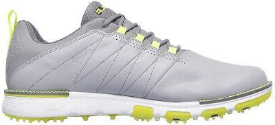 Skechers Go V.3 Spikeless Golf Gray/Lime - Size &