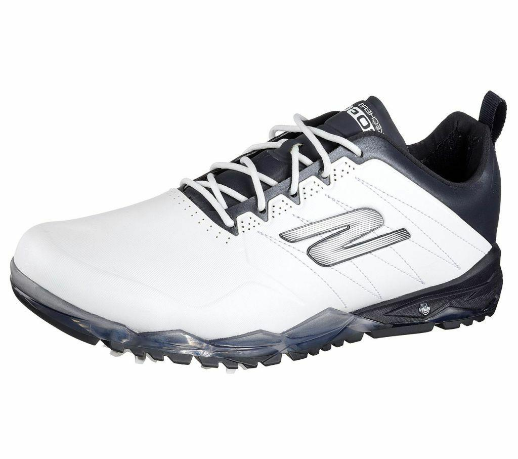 Skechers Go Golf Focus 2 Shoes Mens 2018 White Navy 54528 Wa