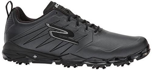 Skechers Men's Go Golf Focus Shoe,Black,11 M US