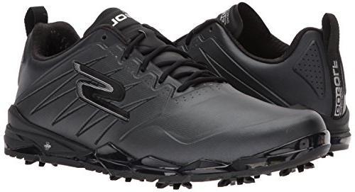 Skechers Men's Golf Focus Shoe,Black,11 M