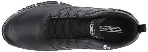 Skechers Men's Golf Focus Golf Shoe,Black,11