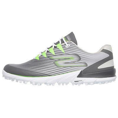 Skechers Go Golf Men's Bionic 2 Golf Shoes - Grey/Green