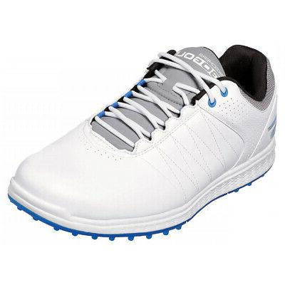go golf pivot spikeless golf shoes white