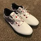 Skechers GoGolf Focus Waterproof Mens Golf Cleats White 5450