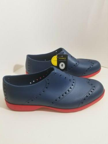 Biion Golf Brights Shoes Blue and Red Size 11