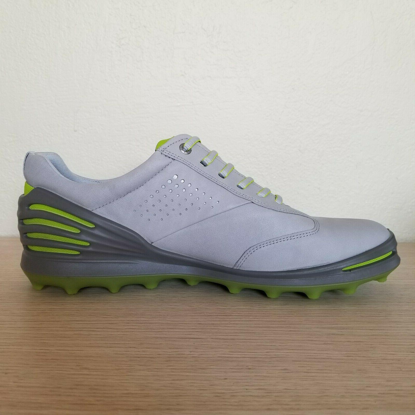 ECCO Golf Pro Spikeless Golf Concrete Gray Green SZ