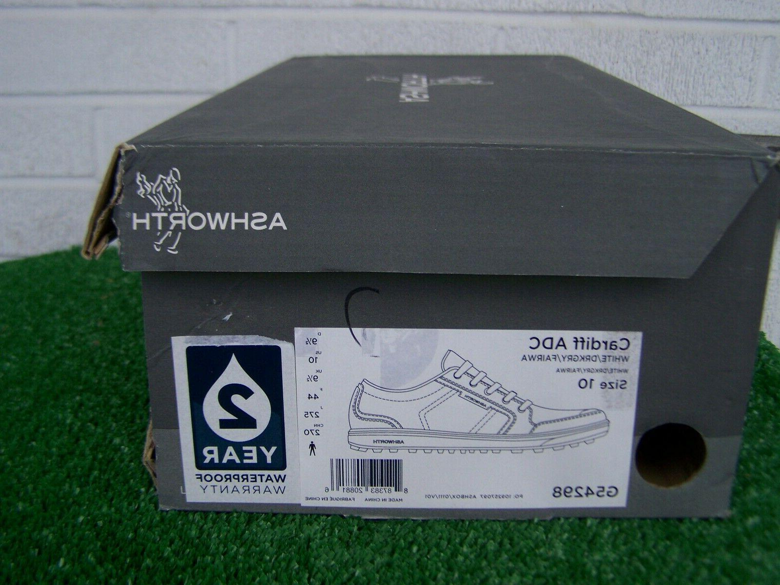 Ashworth Golf Cardiff & Shoes US Size