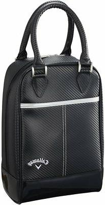 Callaway Golf GLAZE Shoe Case 2018Model Men's Black Syntheti