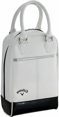 Callaway Golf GLAZE Shoe Case 2018Model Men's White Syntheti