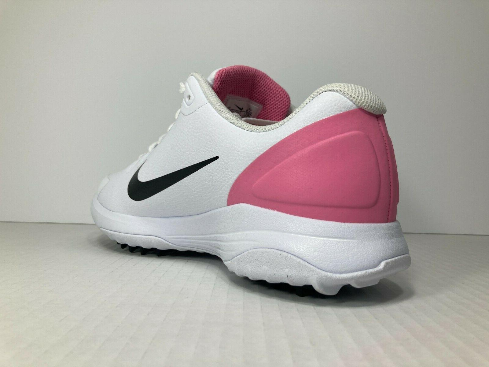 NIKE Mens Golfing Shoes Spikes - Pink -