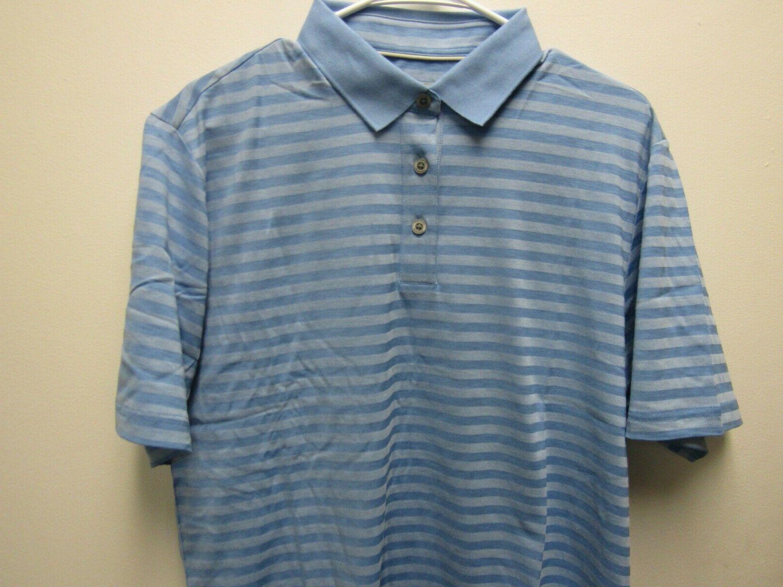 Ashworth Golf Shirt Seaside Size Medium M EZ-TEC 2 AM33173S6 NEW