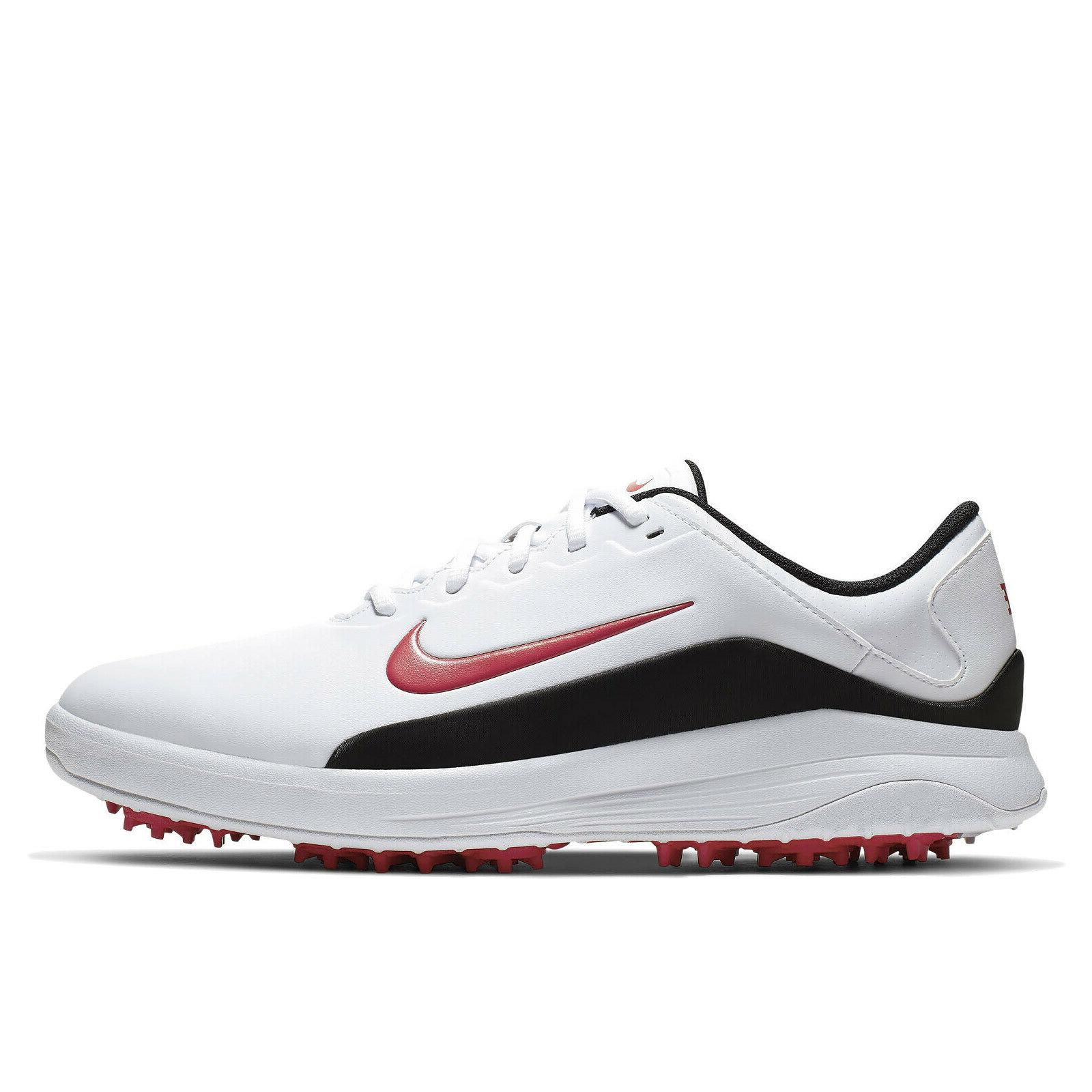 NIKE GOLF Golfing Shoes Cleats - White Black - SIZE