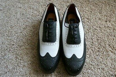 golf shoes 9 wide wingtip nwot
