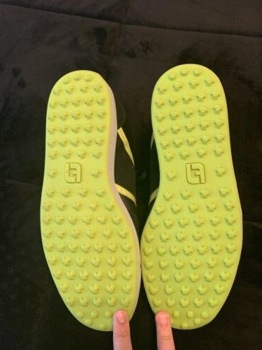 Footjoy Shoes and Lime