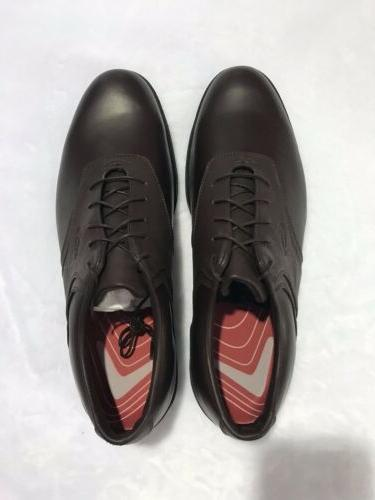 golf shoes mens size 14 brown leather