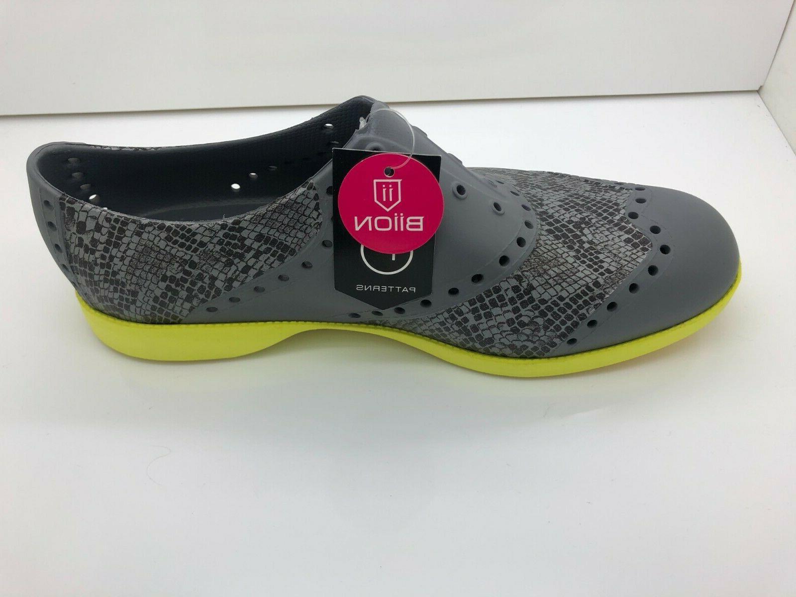 Biion Golf Shoes Patterns Snake  NEW! Men