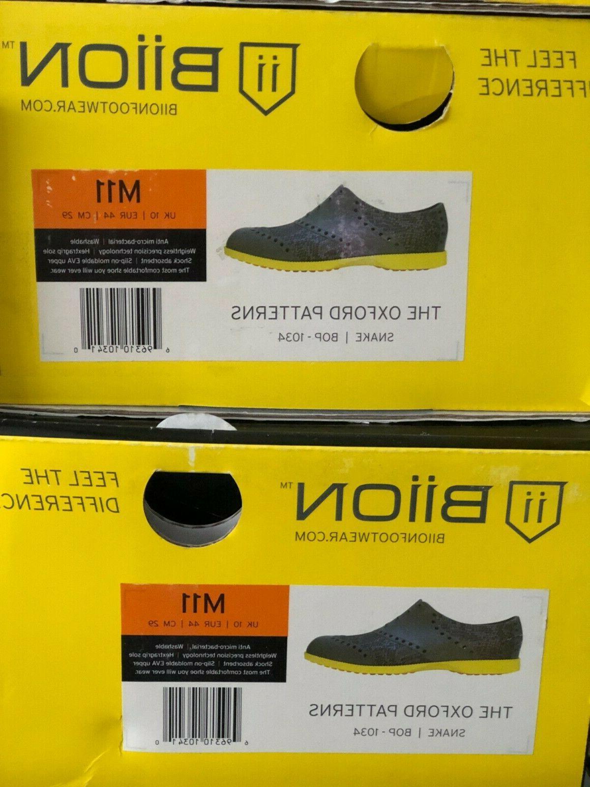 Biion Shoes Patterns Snake