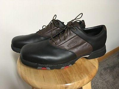 Callaway Cleats XWT Lace Up Brown Sz